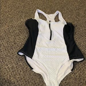 Black and White one piece